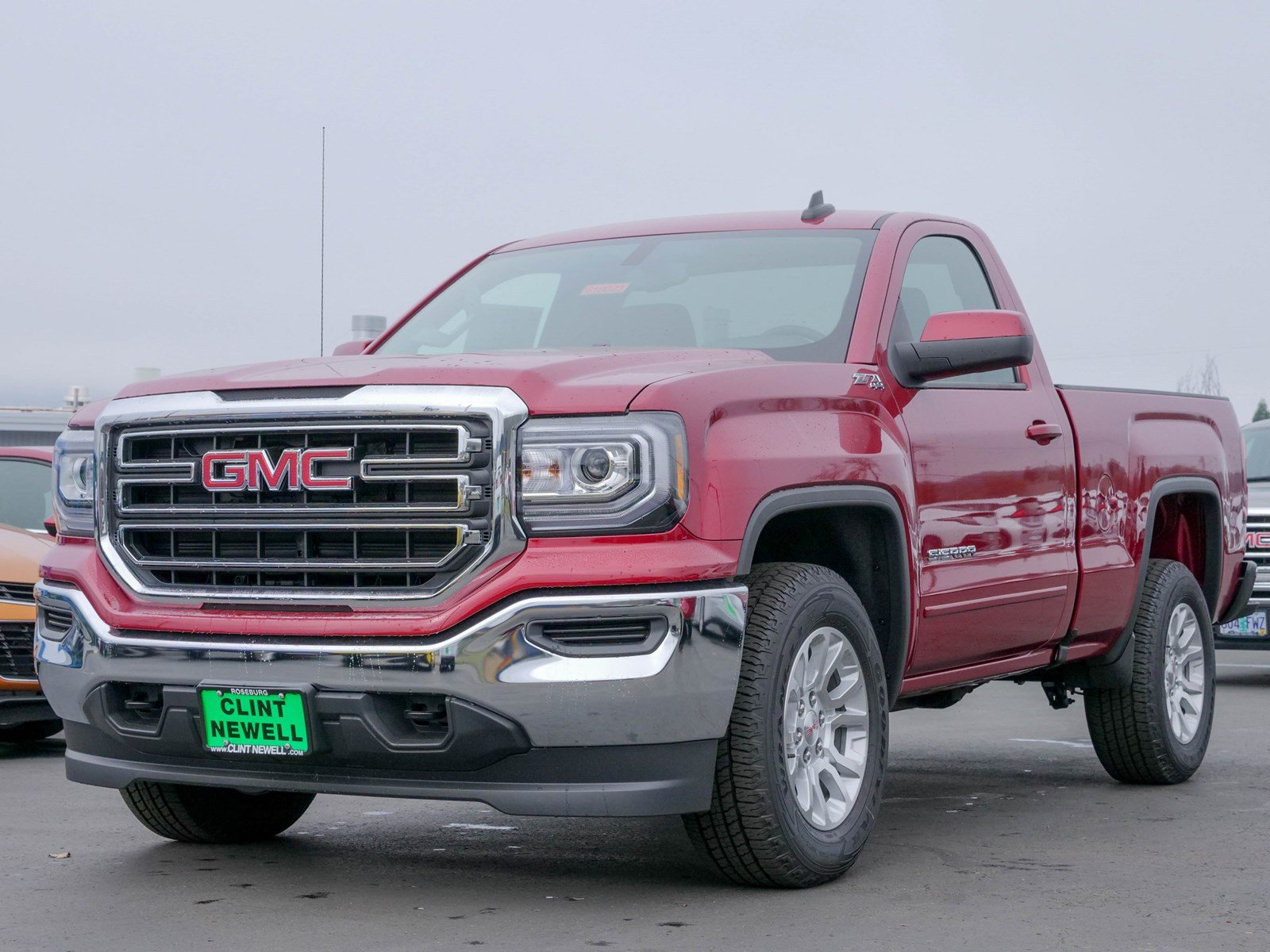New 2018 GMC Sierra 1500 SLE Regular Cab Pickup in